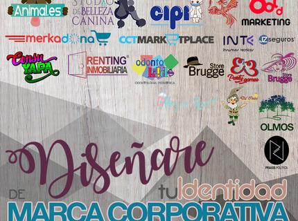 ¡Diseñare la identidad de tu marca corportativa!