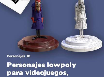 Personajes Lowpoly p/GAMES
