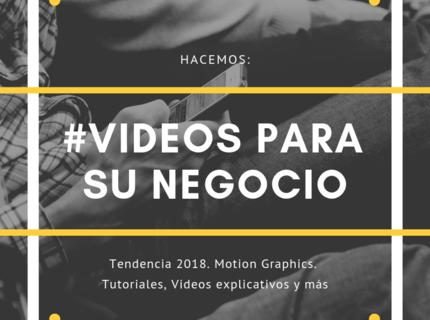 Videos profesionales para su negocio