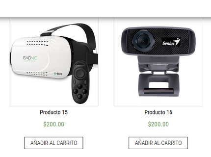 Tienda Virtual con WordPress