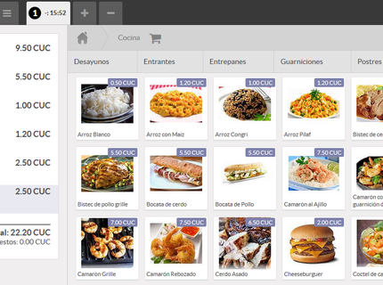 Sistema para Restaurantes