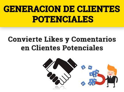 Generación de clientes potenciales desde Facebook