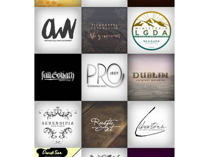Logotipo Artístico/ tipográfico mercadotécnico