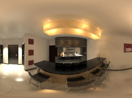 Render Panoramico Interior 360 grados