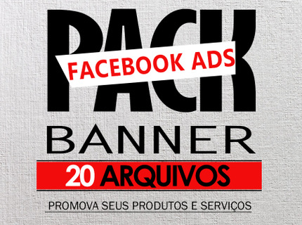 PACK BANNER FACEBOOK ADs