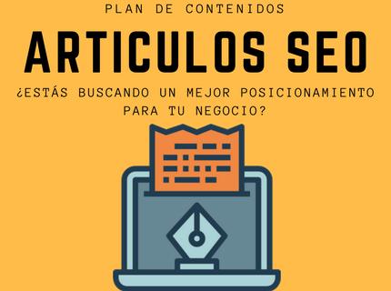 Artículos SEO para Blogs
