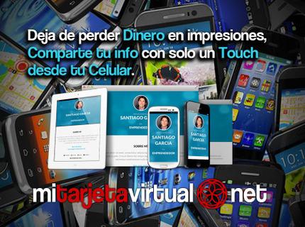 Tarjeta de Presentación Virtual