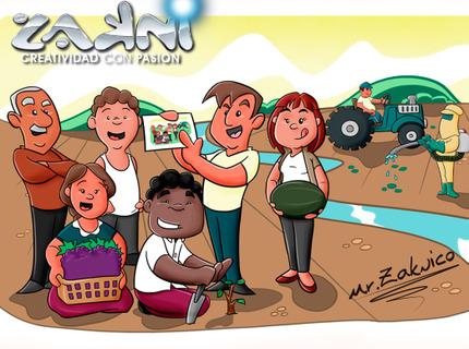 Ilustraciones, Cuentos Infantiles