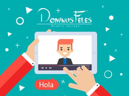 Video promocionales, animación 2D motion graphic