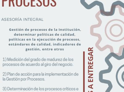 Calidad en servicios y procesos