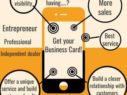 Digital Invitation Cards and Digital Business Card