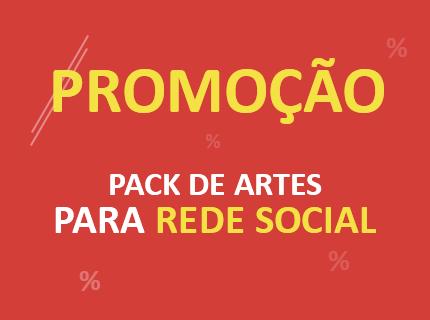 PROMOÇÃO - Pacote de Artes p/ Facebook e Instagram