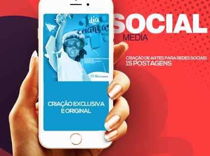 Pacote 15 Post Social Media- Artes