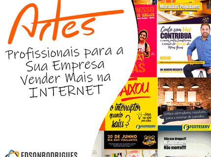 Pacote com 10 Artes para Facebook e Instagram