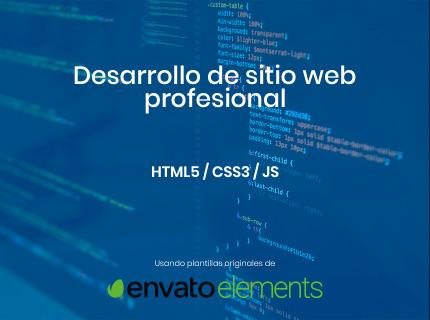 Desarrollo de sitio web profesional