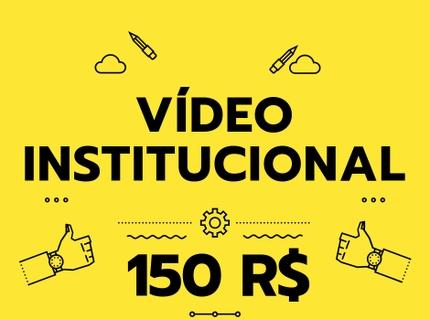 Vídeo institucional de 1 minuto