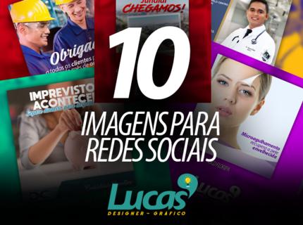 10 imagens para redes sociais