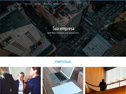 Site responsivo com Portfólio, Blog, Seo -Wordpres