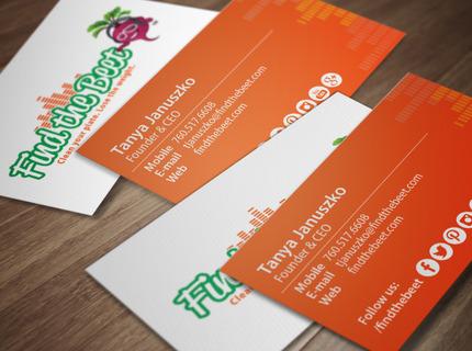Logotipo y tarjetas de presentación
