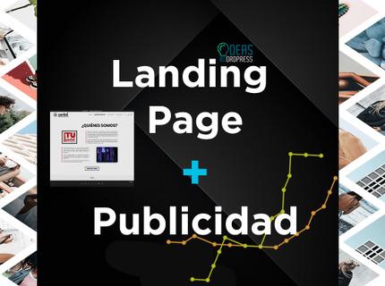 Landing Page + Campaña de Publicidad