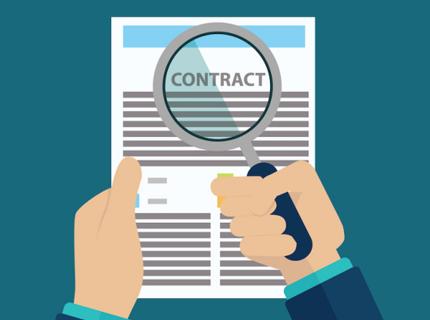 Redacción de contratos de servicios