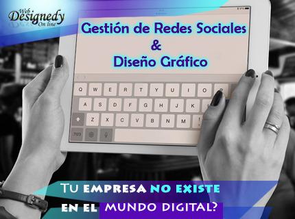 Manejo de Redes Sociales con Diseño profesional