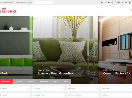Sitio Web de Inmobiliarias