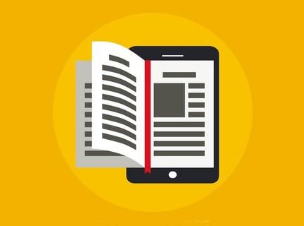 Produção de ebook com 3 ou 5 mil palavras