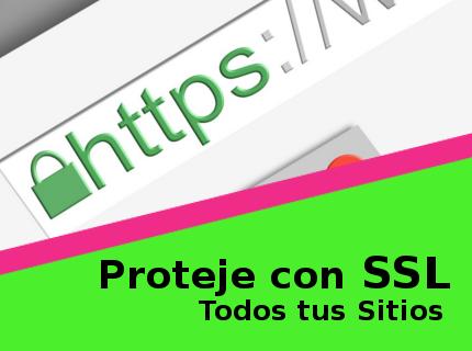 Obtén tu Certificado SSL Ahora!