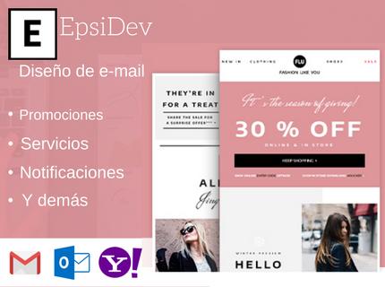 Diseño de e-mail. ¡Impresiona a tus clientes!
