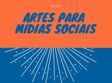 Pacote de artes para Mídias Sociais