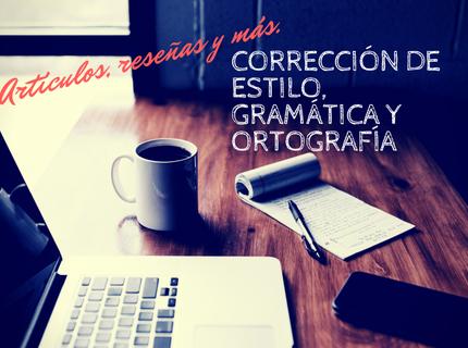 Corrección de ortografía y estilo en textos
