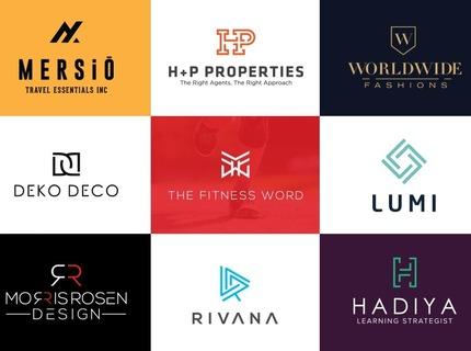 Modern/Minimalist/Flat Logo Designer