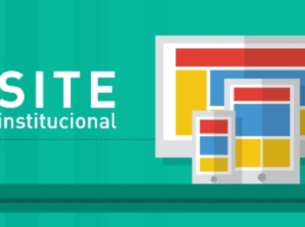 Criação de Site Institucional Completo