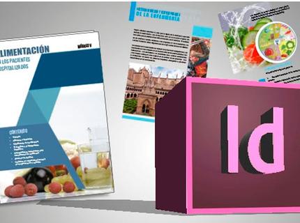 Diseños de folletos, libros, manuales creativos