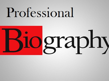 Biography/bio writing services