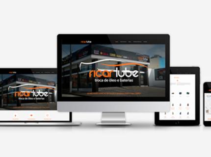 Criação de Site Institucional + Blog