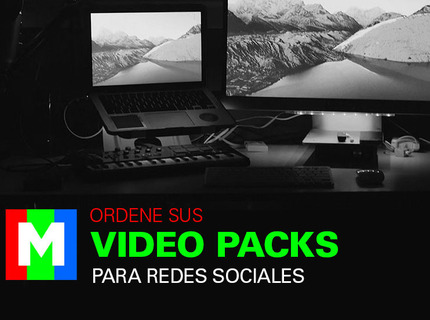 Ordena tu Video Pack para Redes Sociales