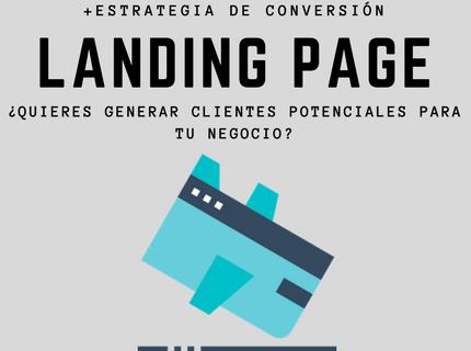 Creación de Landing Page en Wordpress