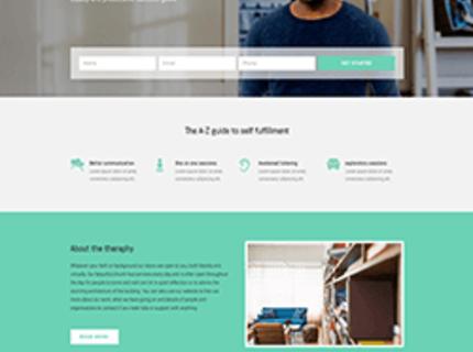 Landing Page em WordPress com Hospedagem otimizada