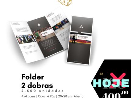 2.500 uni - Folder 2 Dobras
