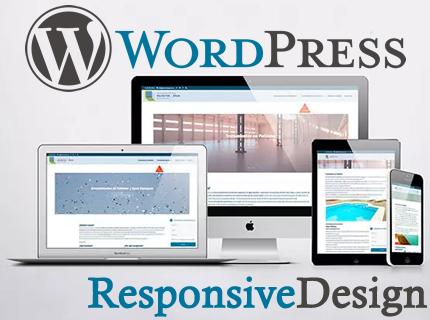Diseño de páginas WordPress a su medida