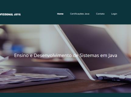 Landing Page com captura e gerenciamento de emails