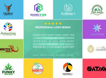Diseño de logo + paquete de branding completo