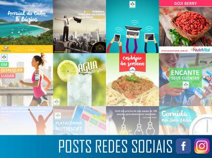 Posts para Redes Sociais
