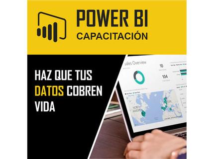 Capacitación de Power BI Desktop Nivel Básico