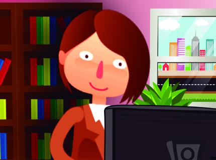 Animação informativa