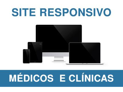 Site Responsivo para Médicos e Clínicas