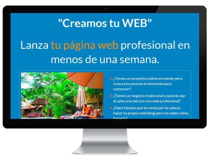 Sitio web en Wordpress en menos de 10 días