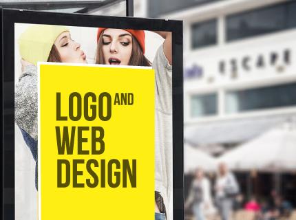 Obtén tu logo y página web a un bajo precio!
